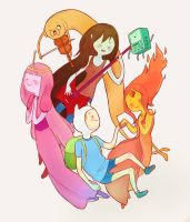 Adventure Time by HaggyLagman