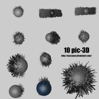 10 pic-3D by nasrzaara