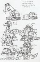 TF_RiD: Constructibots Concepts by BlueIke
