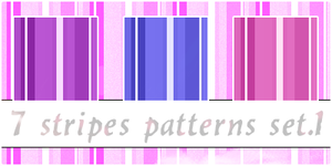 Stripes Patterns 1 by Claire-93