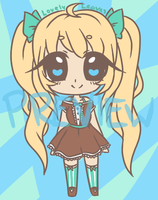 Mint Choco Lolita (POINT ADOPT) [OPEN] (SALE) by Lovely-Leaves