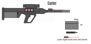Cycler Sniper Redone by Artmarcus