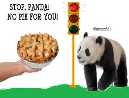 No pie for panda by AVRICCI