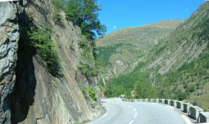 On the road of Les Deux Alpes by Sweetlylou