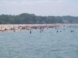 I hate it when the beach is this crowded by beachtownkid