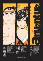 Aniventure poster 2009 by Rikae