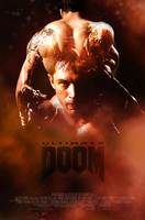 ''Ultimate Doom'' movie poster v.2 (fan made) by NiteOwl94