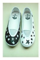 doodle shoes: stars by stephkaz