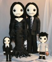 The Addams Family by Zosomoto