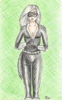 Black Cat Feeling Lucky by Palyansquest