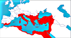 Roman Empire in 565 by woodsman2b