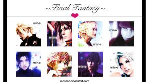 Final Fantasy Love by merigon