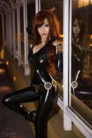 Marvel Comics - Black Widow cosplay by AzHP