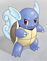 Wartortle by IndigoWildcat
