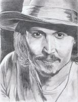 Johnny Depp by BenniBaboBang