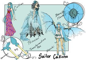 Sailor Callisto by inkscribble