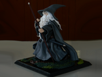 Gandalf the Grey (Fanart inspired by book art) by maga-01