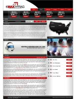 MAX Frag Website by zblowfish