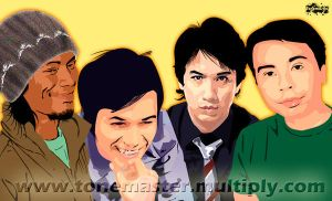 Eraserheads vectorized by tonemaster