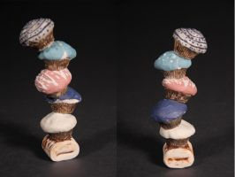 Cupcake Tower by forlorn-faerie
