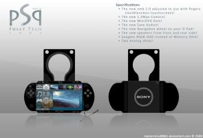 PSP Fully Tech 3000 concept by MasterMIND8881