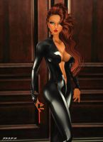 OO7fan-Tiffany: Tiff at the Mistress Ball :3 by Krypto4CatSuits