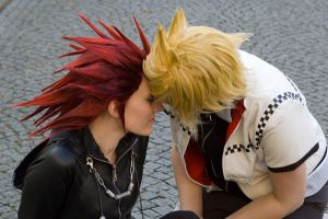 Akuroku - One wish... by MiraiSadame