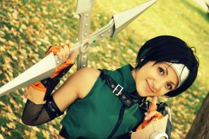 Yuffie Final Fantasy VII cosplay by EdeaTheSleepingCat