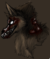 undead werewolf by bit121788