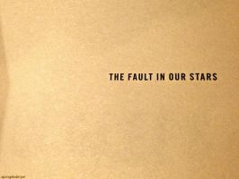 the fault in our stars by spongebobryar