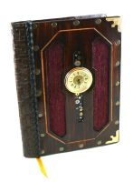 Heart of Time Leather Journal by McGovernArts