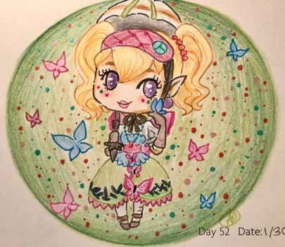 Day 52: Fly Like A Butterfly by LaPetitLapearl