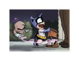 Bat Mite Halloween by ChrisMoreno