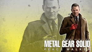 MGS: Peace Walker Wall. Galvez by B4H