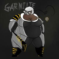 Garnite, my Steven Universe OC by SavageJubster