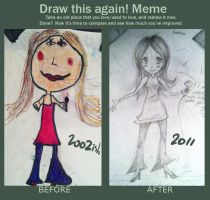Draw this again meme 2 by SailorSquall