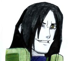 Orochimaru by MyEndOfHeartache