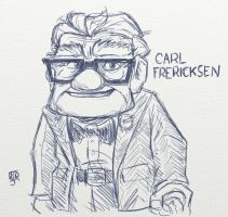 Mr. Fredricksen by Mr-MegaTronic