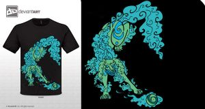 Foo Dog T-Shirt Design by Fadewalker