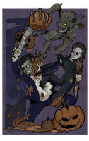 Commission - For a Fistful of Pumpkin by BoscoloAndrea