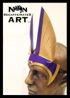 Egyptian Anubis Ears in Purple by nondecaf