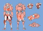 Elita-1 redesign WIP by lucycat410
