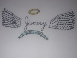 New Tattoo in Memory of Jimmy 'The Rev' Sullivan by MayaHoran