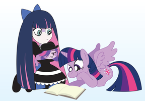 Request: Twilight, Zoe, and Stocking by T-3000