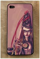 Bayonetta iPhone skin Sample by pandatails