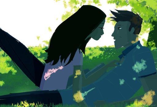 Spring Grass. by PascalCampion