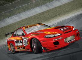 HKS hyper Drift Silvia by chapter69