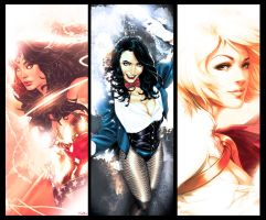 Lovely Ladies of DC Universe by Mercalicious