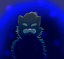 :Doodle WC: Bluestar by IronMeow