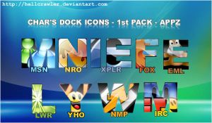 Chars Dock Icons - 1st Pack by hellcrawler